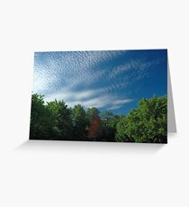 Pillow Clouds Greeting Card