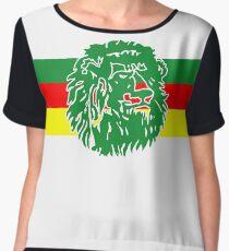 Cameroon Chiffon Top