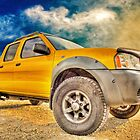 Goodbye Yellow Dog Nissan Navara Pickup in the Sky by ChasSinklier