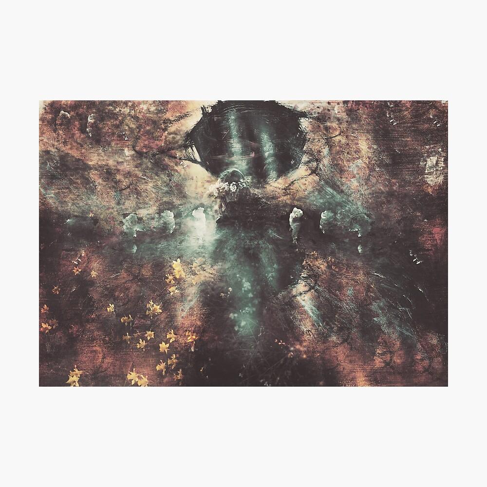Soleil Noir Photographic Print