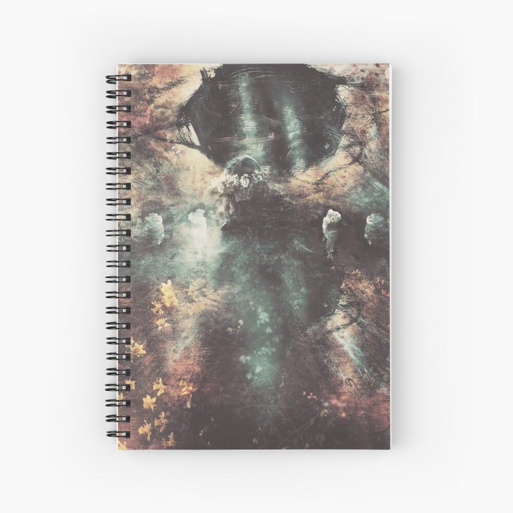 Soleil Noir Spiral Notebook
