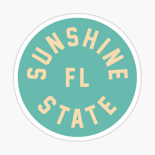 Sunshine State - Florida Sticker
