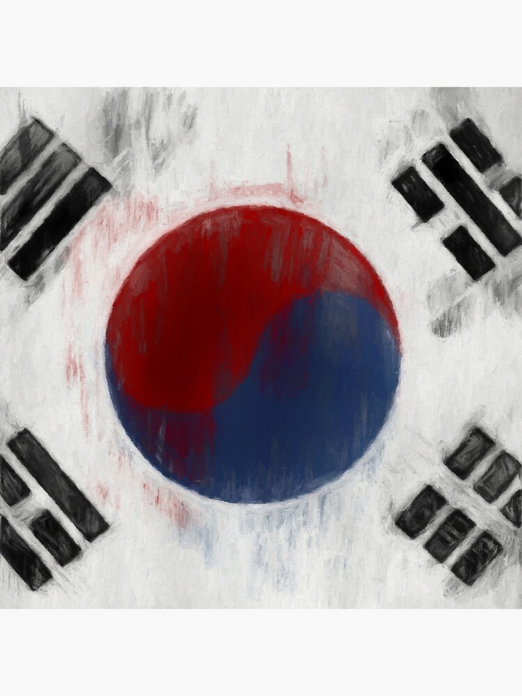 South Korean Flag No. 1, Series 2 by 8th-and-f