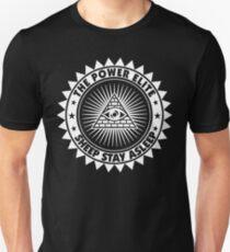 Sheep Stay Asleep - The Power Elite T-Shirt