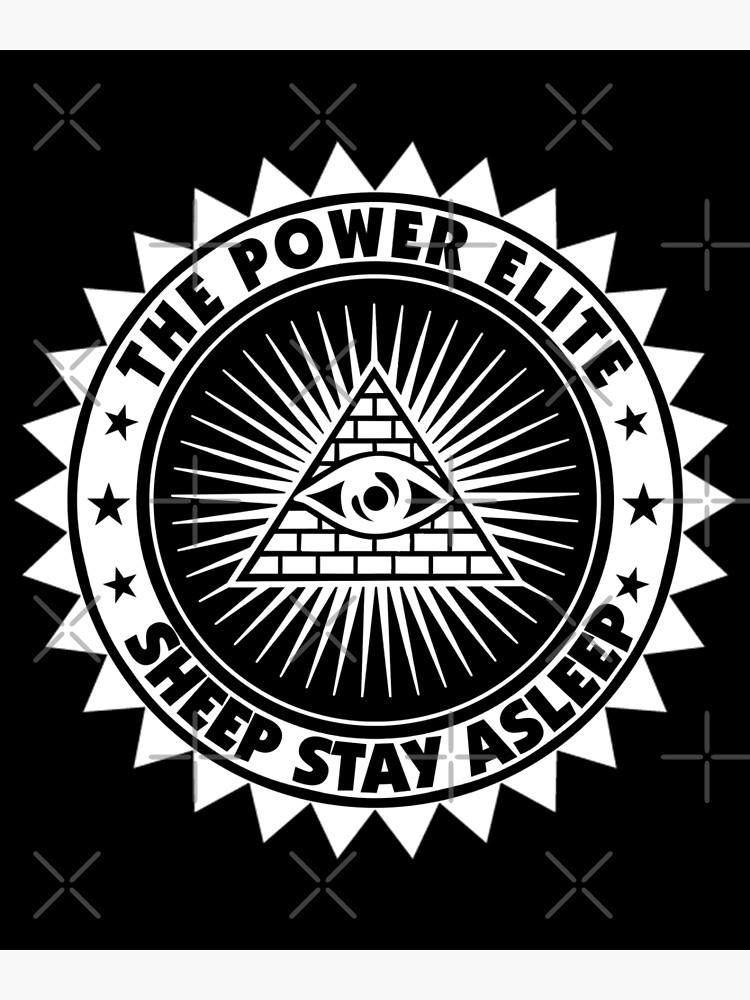 Vintage Anarchy Protest - Retro Riot Gift | Political Activist Anarchist - Anti Illuminati Activism by ThePowerElite