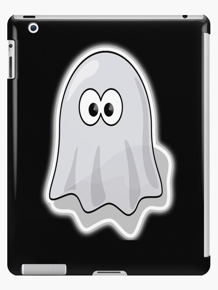 Vinilos y fundas para iPad «Fantasma, Lindo, Dibujos animados ...