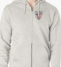 Wappen - Athletic Bilbao Hoodie mit Reißverschluss