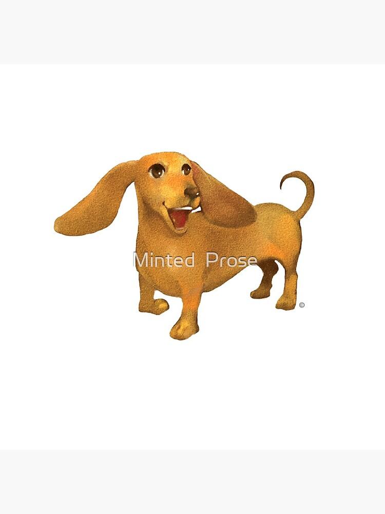 Jasper The Sled Dog Dachshund by MintedProse