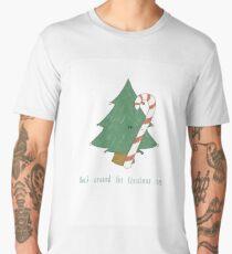 Rock around the Christmas tree... Men's Premium T-Shirt