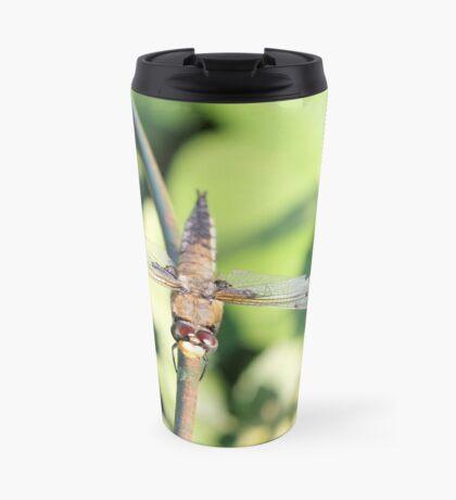 Damaged Dragonfly Travel Mug