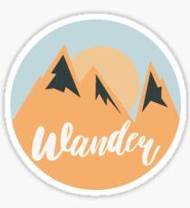 Wander! Sticker