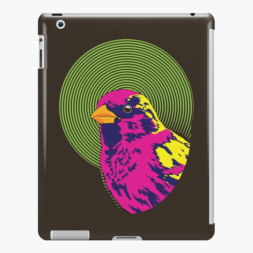 Sparrow Spectrum iPad Case & Skin