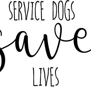Service Dogs by gabsycakes