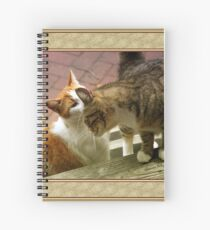 Closer ~ Let Me Whisper in Your Ear Spiral Notebook