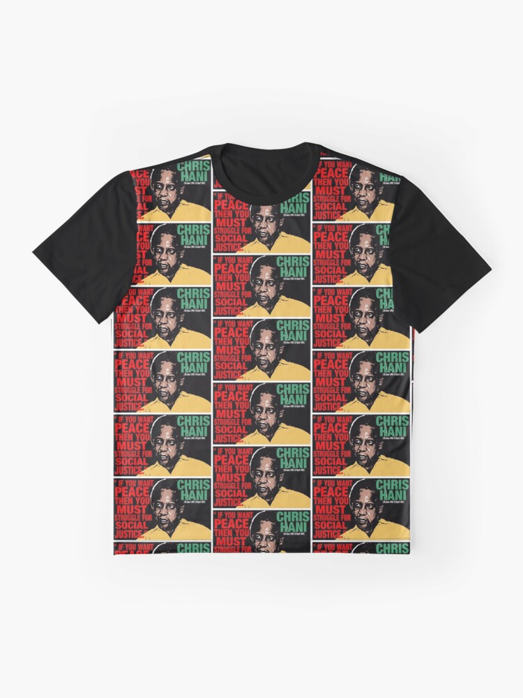 Vista alternativa de Camiseta gráfica CHRIS HANI