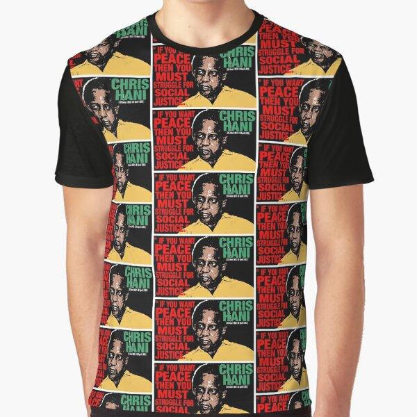 CHRIS HANI Camiseta gráfica
