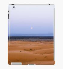 Moonset in Morocco iPad Case/Skin