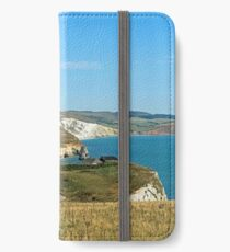 Freshwater Bay From Tennyson Down iPhone Wallet/Case/Skin