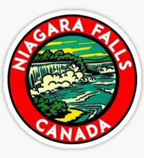 Niagara Falls Canada VintageTravel  Sticker