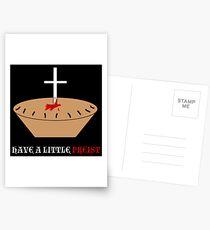 Have a Little Priest Postcards