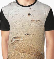 Sandy walks  Graphic T-Shirt