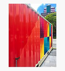 Colourful Shipping Container Photographic Print