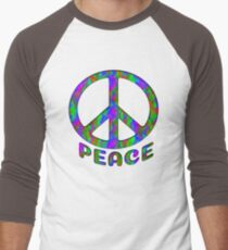 Tie Dye Abstract Peace Design T-Shirt