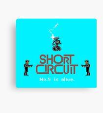 Gaming [C64] - Short Circuit Canvas Print