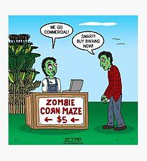 Zombie Corn Maze Photographic Print