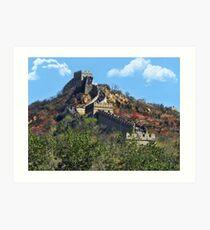 万里长城 GREAT WALL OF CHINA 万里长城  VARIOUS APPAREL Art Print