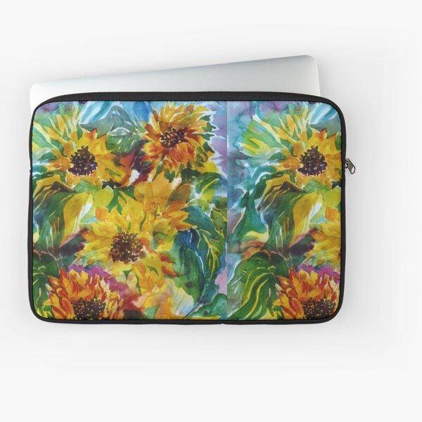 Sunflowers a la Somis Laptop Sleeve