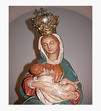 Our Lady of Le Leche (Close up) Photographic Print