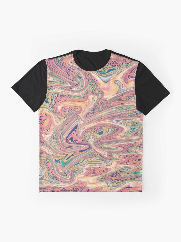 Alternative Ansicht von LaCroix Pamplemousse Marmor Grafik T-Shirt