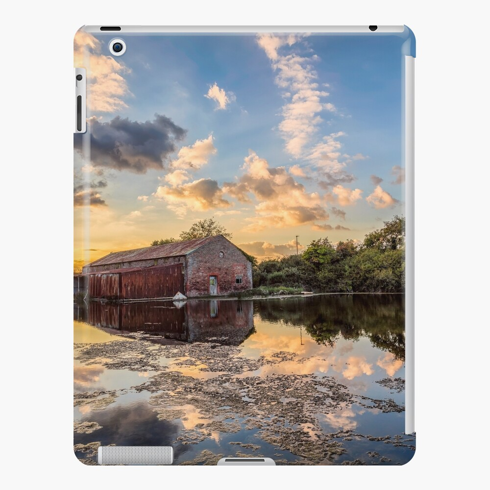 Bembridge Lagoons Boatshed iPad Case & Skin