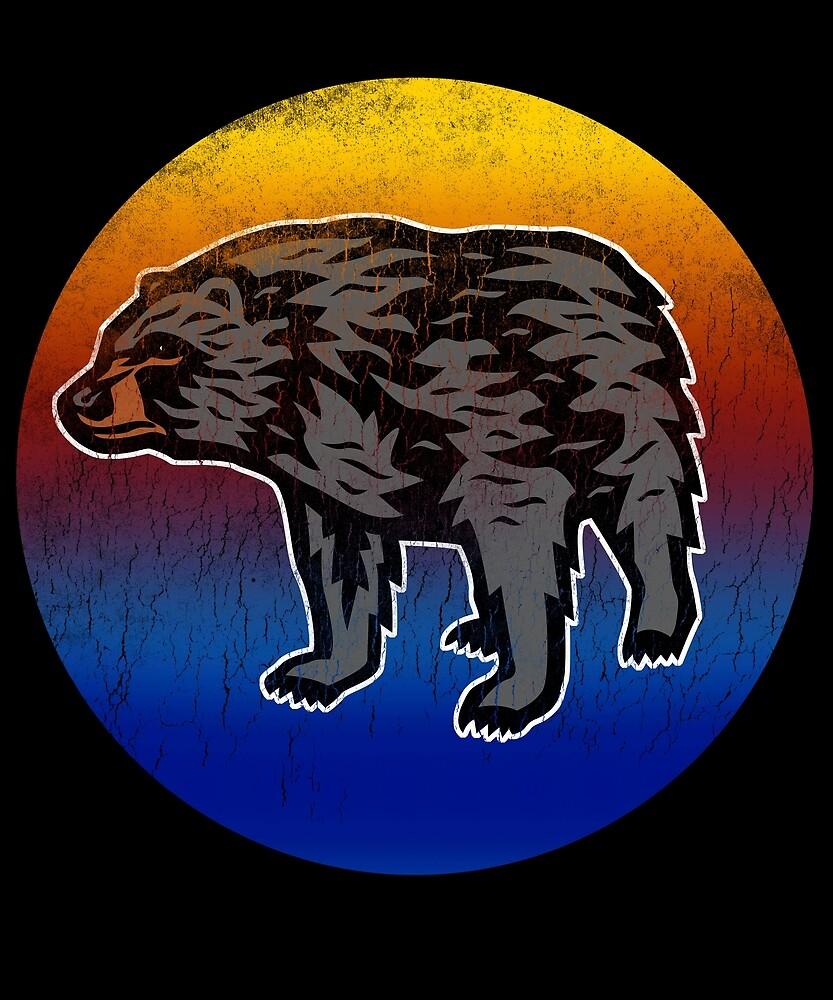 Always Be Yourself Cute Bear, Love Alaska by roarr
