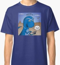 T-Rex Mobile Cell Phone and Texting or T-rexting Classic T-Shirt