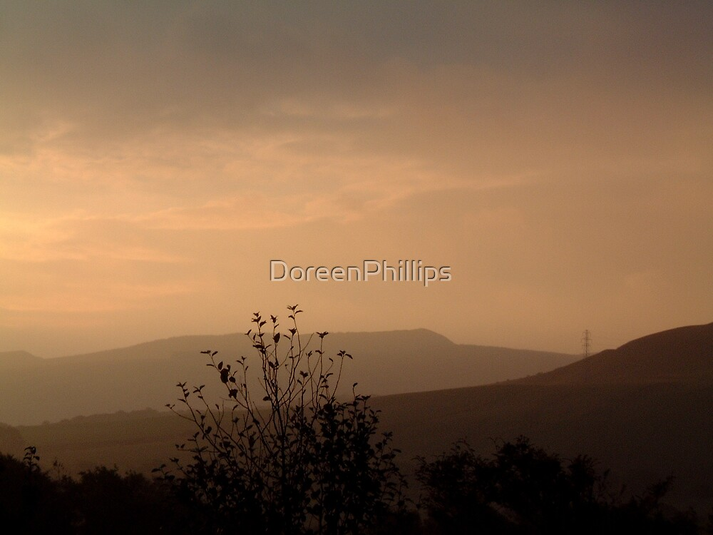 Dawn over Cult Hill by DoreenPhillips