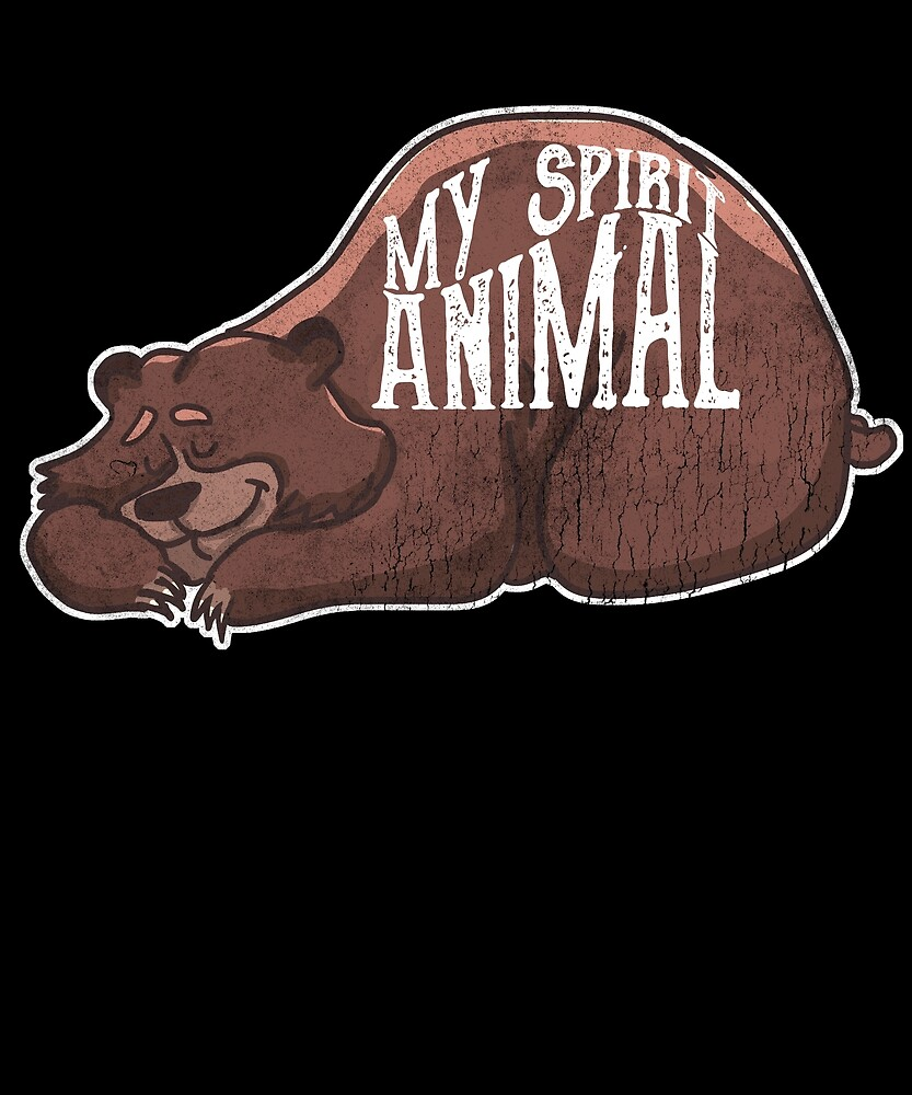 Love Canada, Brown Bear Spirit Animal by roarr