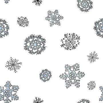 Snowflakes by katsprintbtq
