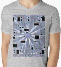 Hi-Tech Twin Men's V-Neck T-Shirt