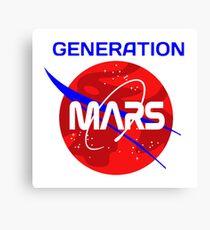 Generation Mars Canvas Print