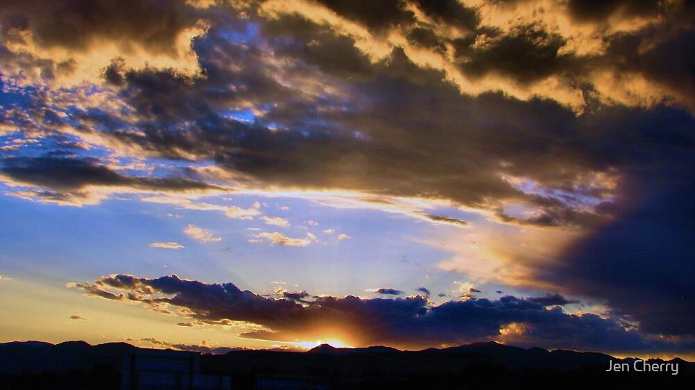 Heavenly Rays by Jen Millard