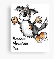 Fluffy Bernese Mountain Dog - Dogs - Funny - Pet - Gift Canvas Print