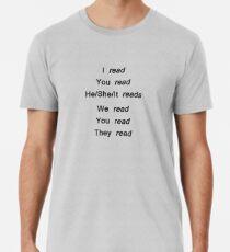 Reading conjugation Premium T-Shirt