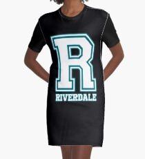 R- Riverdale Graphic T-Shirt Dress