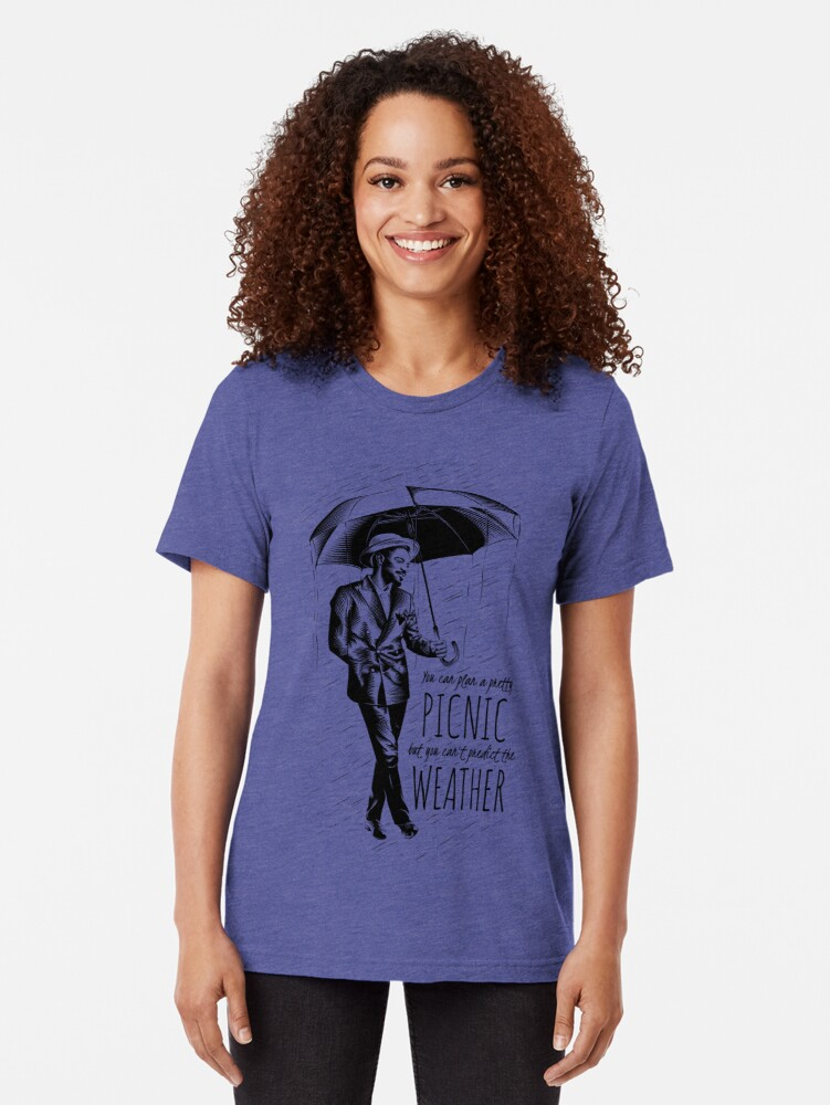 Alternate view of Andre in the Rain Tri-blend T-Shirt