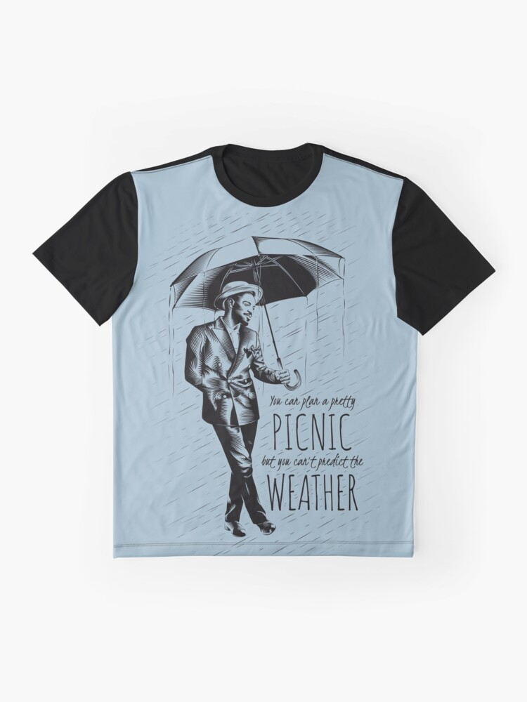 Alternate view of Andre in the Rain Graphic T-Shirt