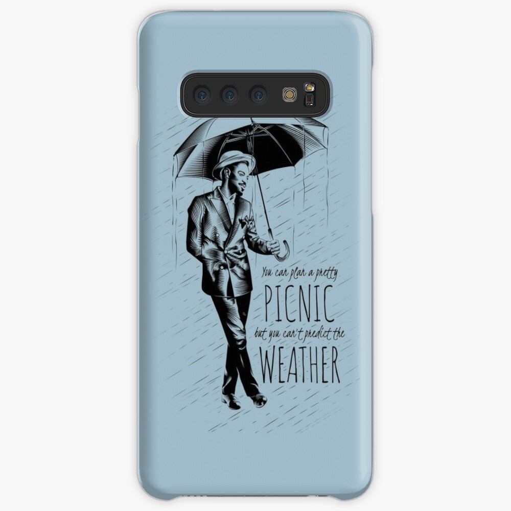 Andre in the Rain Case & Skin for Samsung Galaxy