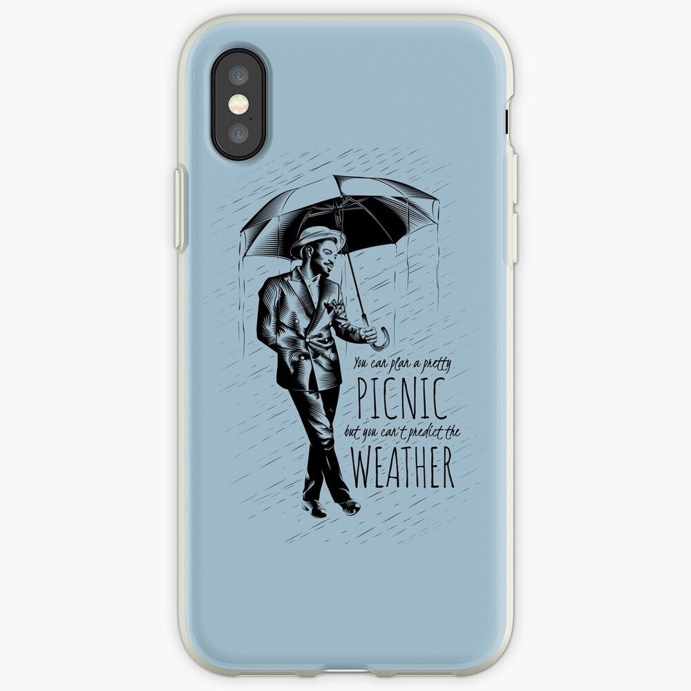 Andre in the Rain iPhone Case & Cover