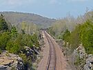 Railroad Tracks to Ironton by FrankieCat